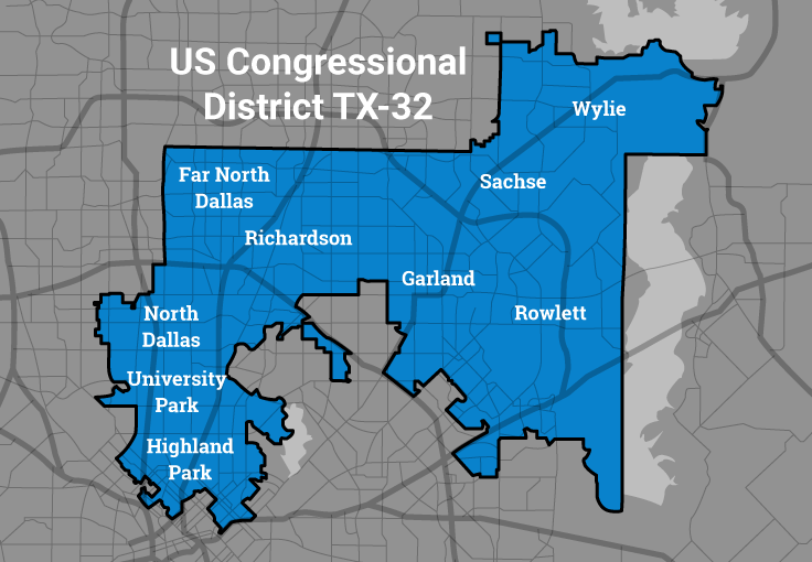 SwingLeft TX Lets Flip The  In - Political map 2018 us house